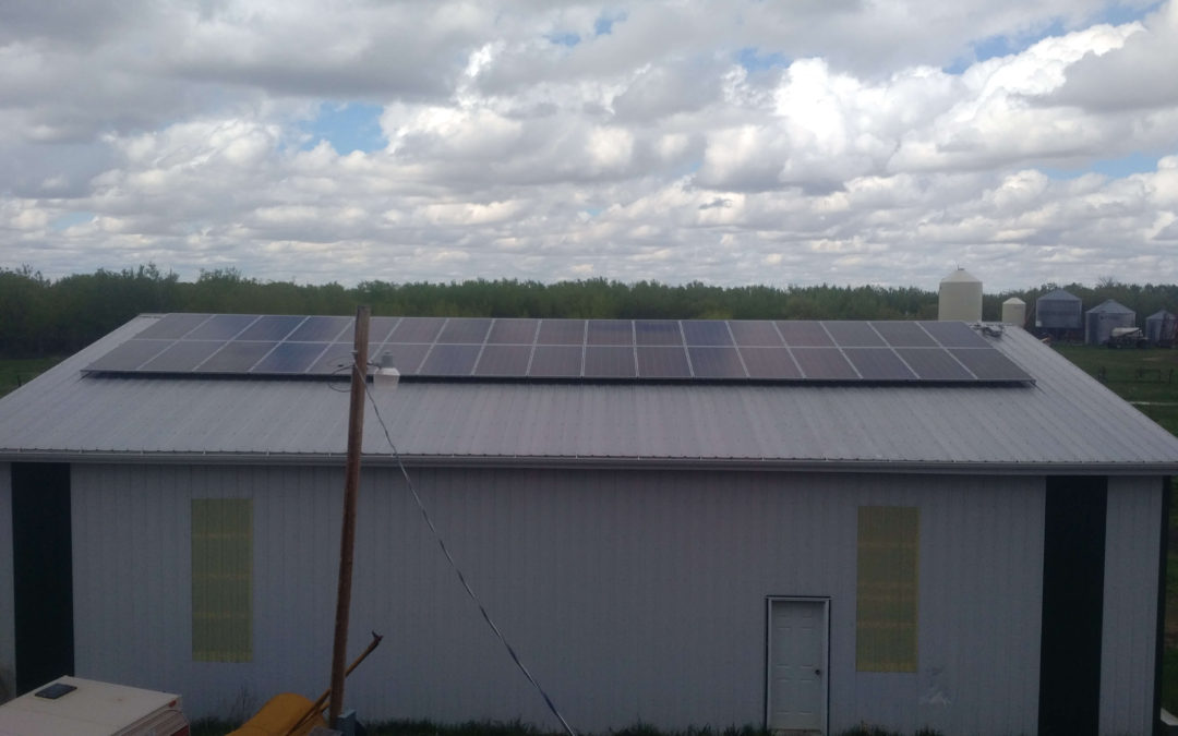 10.7 kW Array, Camrose County, Alberta