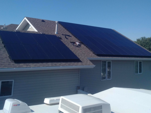 10.8 kW Array, Camrose, Alberta