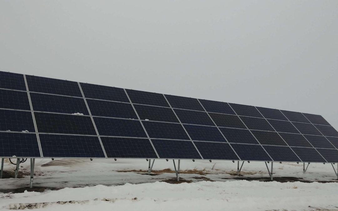 13 kW Array, Kelsey,  Alberta