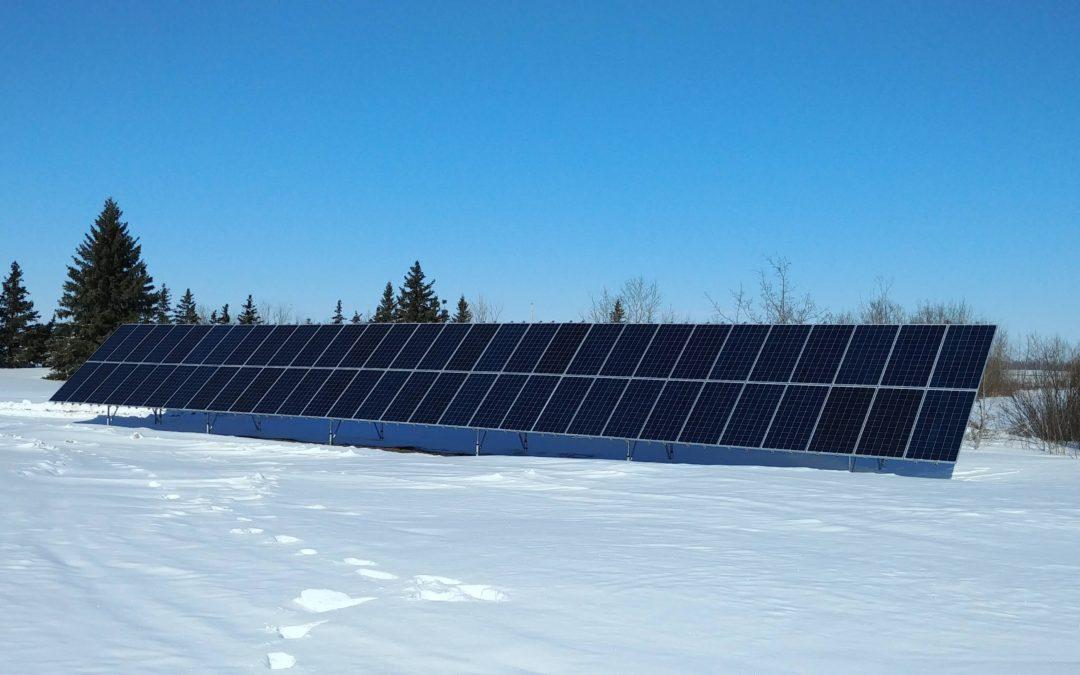18.3 kW Array, Camrose County, Alberta
