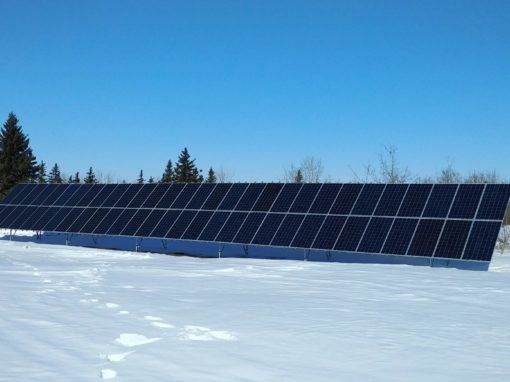 18.3 kW Array, Camrose County, Alberta