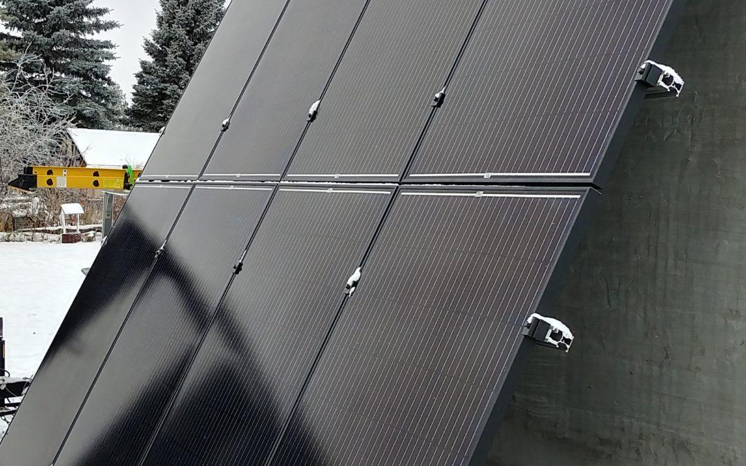 2.16 kW Array, Cheerhill, Alberta