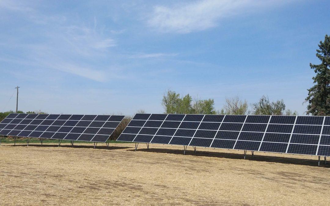 25.6  kW Array, Killam, Alberta
