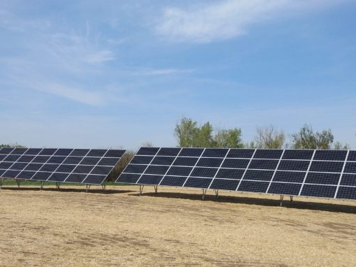 25.6  kW Array, Killam, Alberta