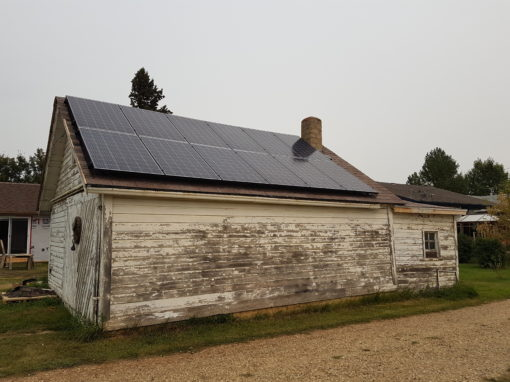 3.7 KW Array, Rosalind Alberta