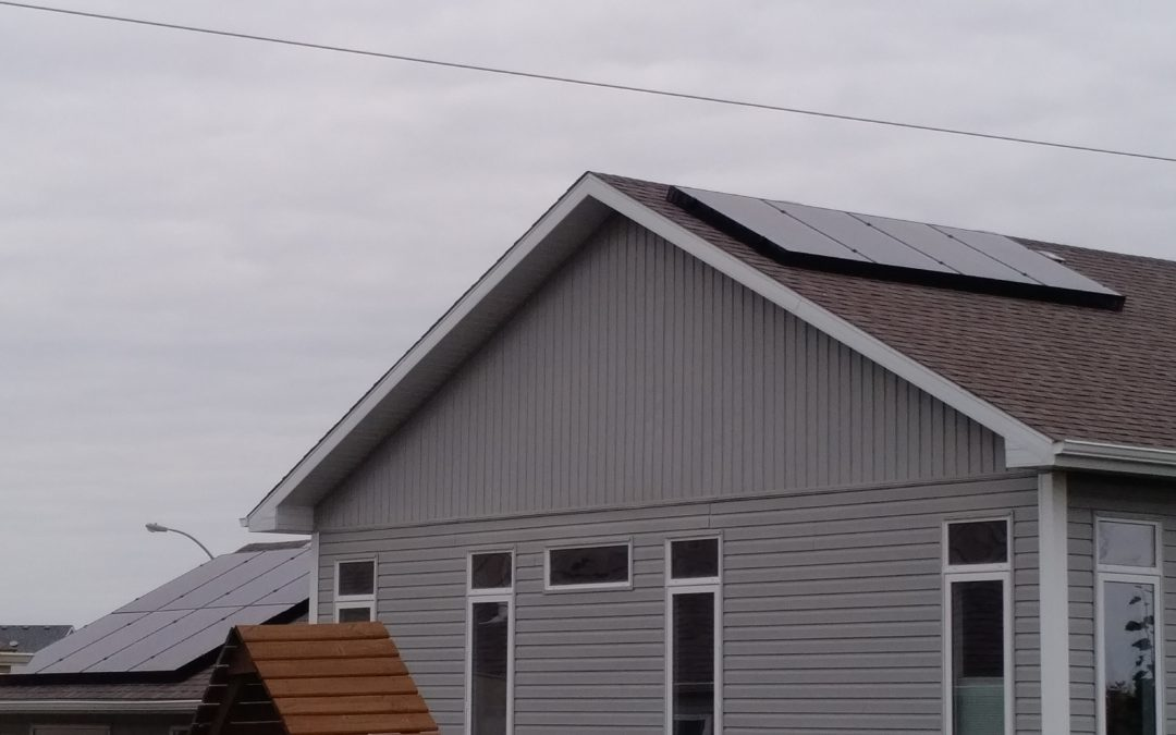 4.3 kW Array, Camrose, Alberta