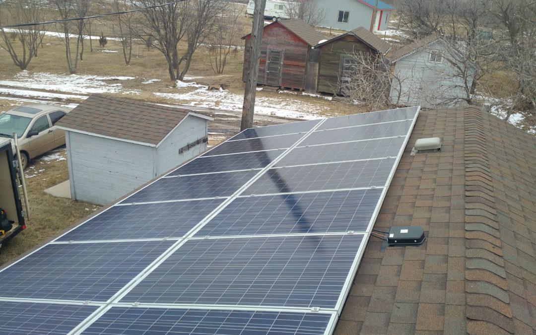 4.6 kW Array, Camrose County