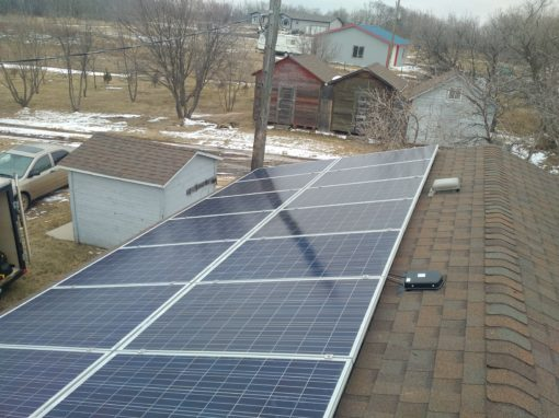 4.6 kW Array, Camrose County