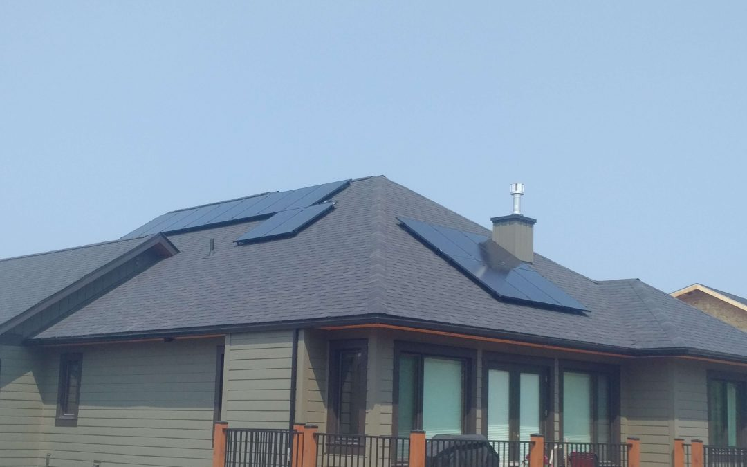 4.8 kW Array, Kimberly, British Columbia