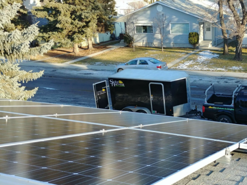 5.6 kW Array, Edmonton, Alberta