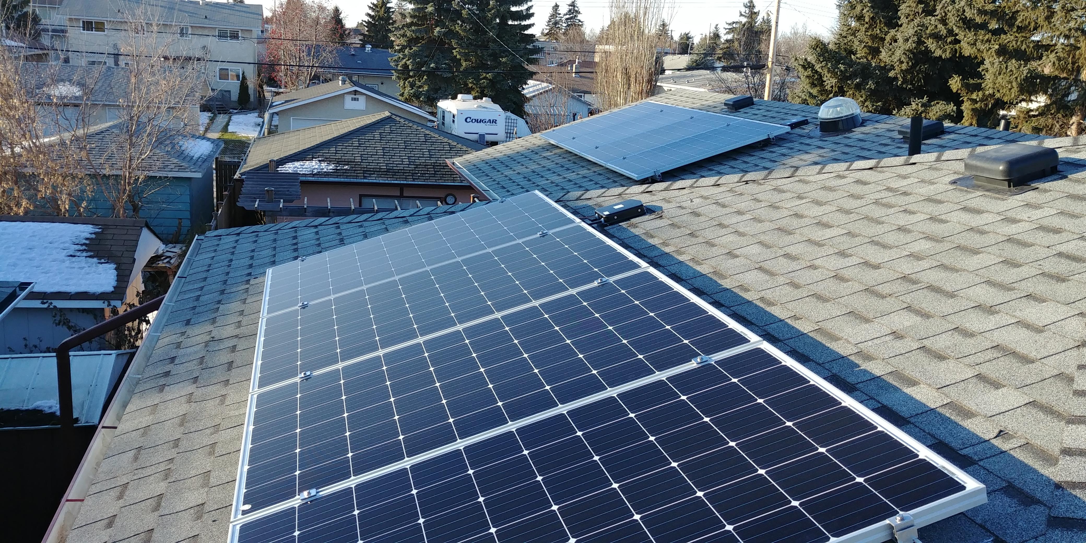 5.6kw solar array Edmonton Alberta (2)