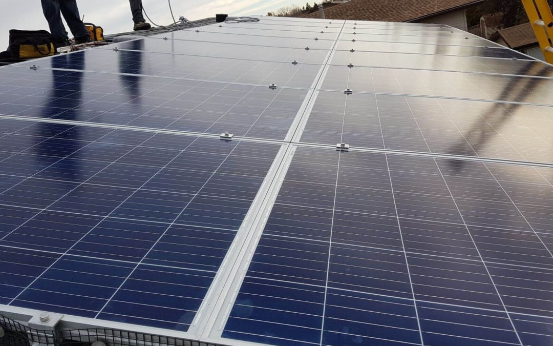 5.75 kW Array, Camrose, Alberta