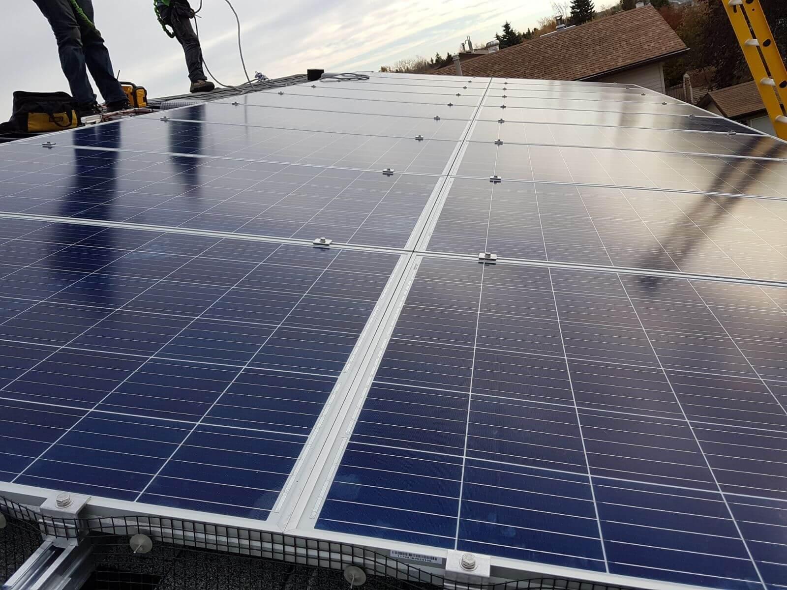 5.76 kw solar array Camrose Alberta