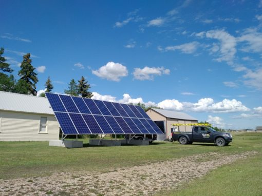 6.1 kW Array, Stettler, Alberta