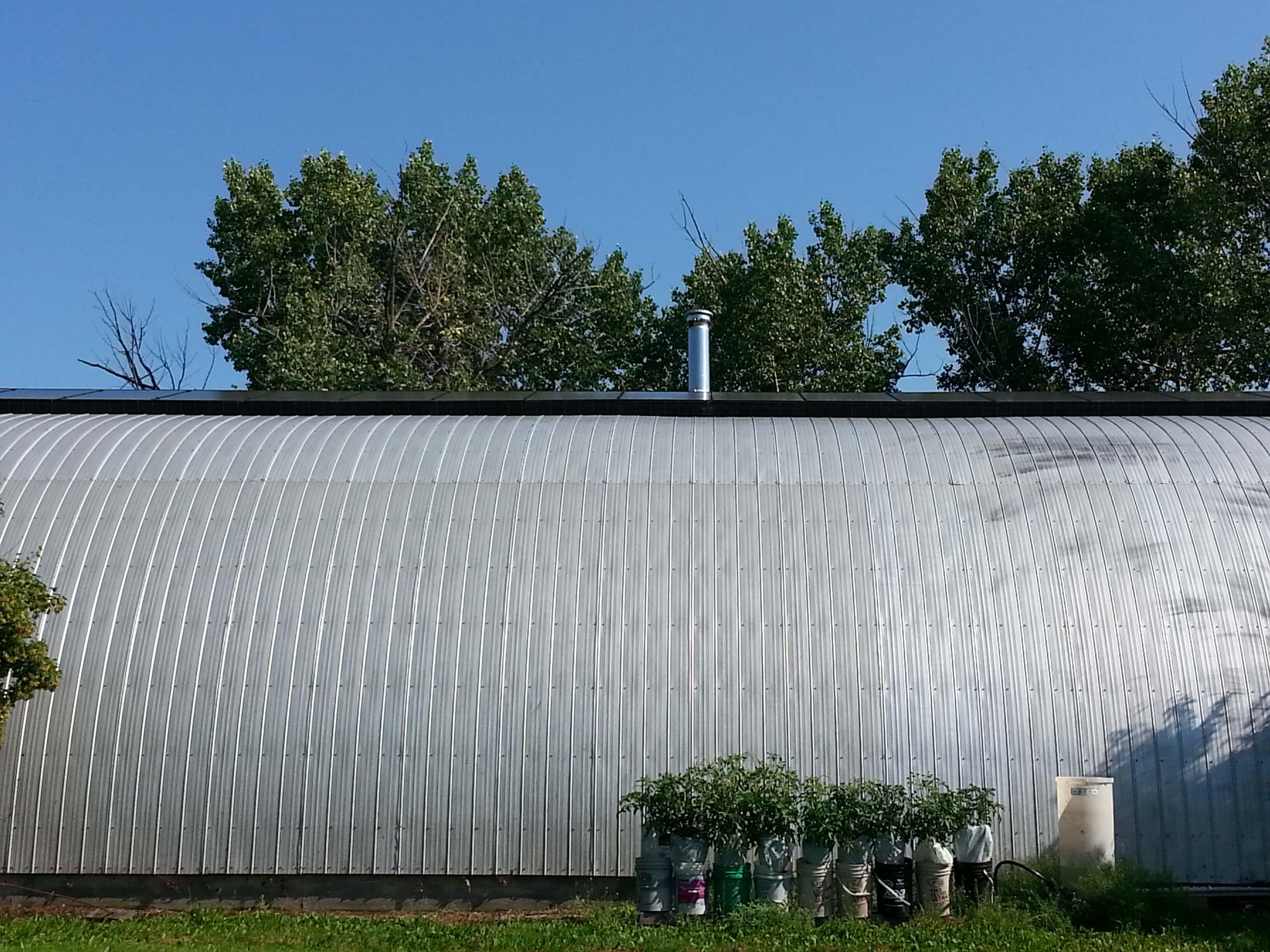 6.4 KW solar array, Holden Alberta