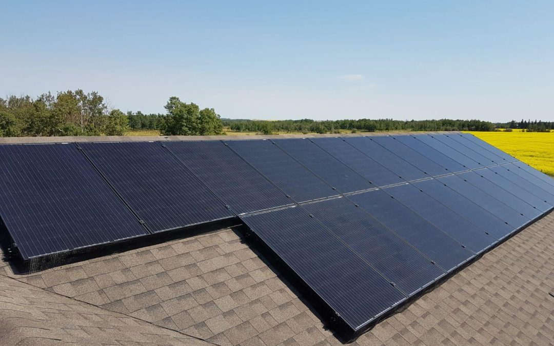 6.4 kW Array, Camrose County, Alberta
