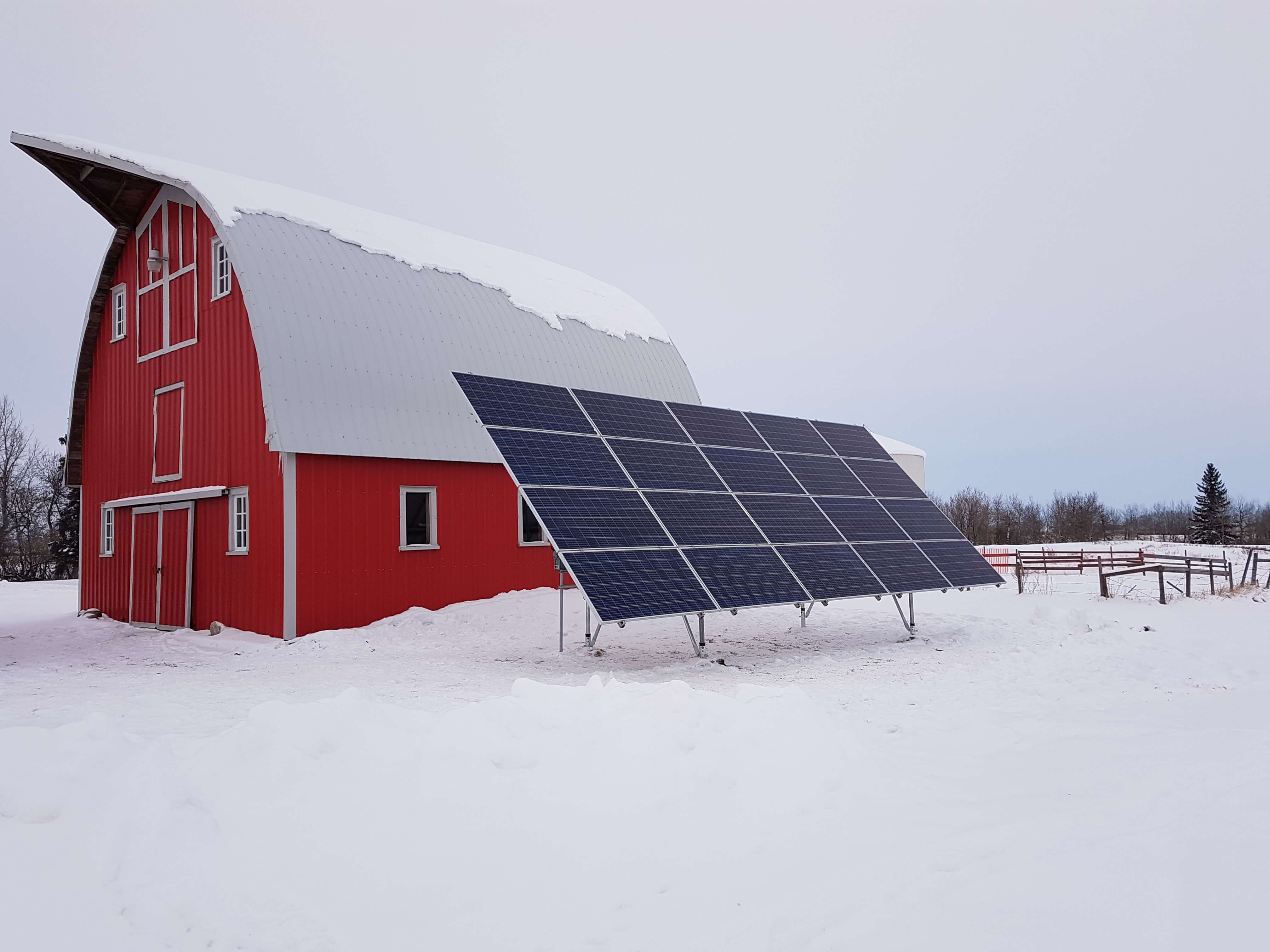 6.5 kw solar array Holden Alberta
