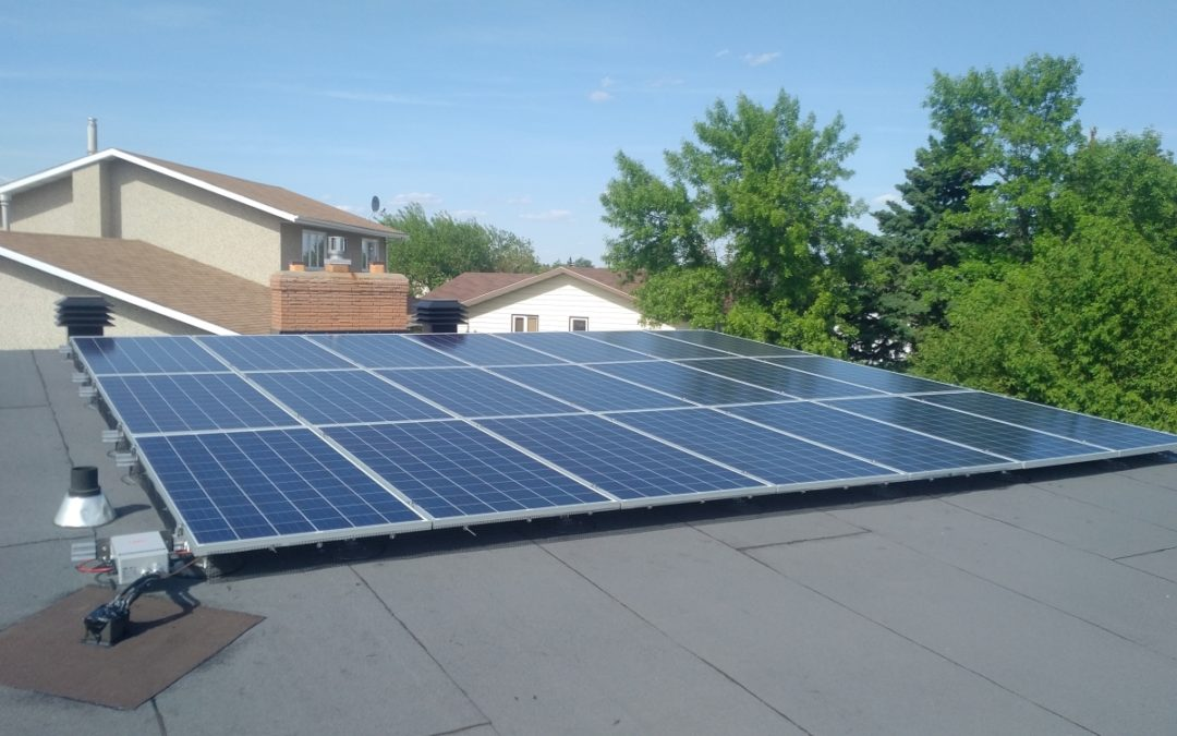6.7 kW Array, Camrose. Alberta