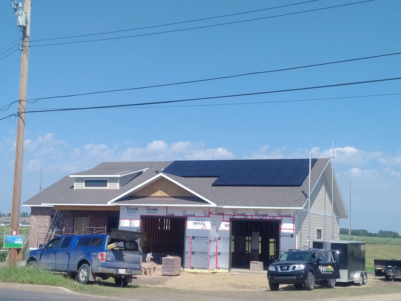 7.5 KW solar array Camrose AB