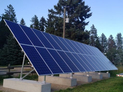 9.4 kW Array, Raven, Alberta