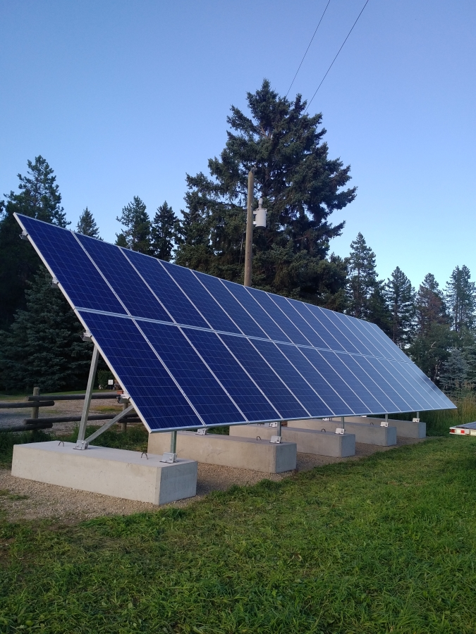 9.4 KW solar array Raven Alberta