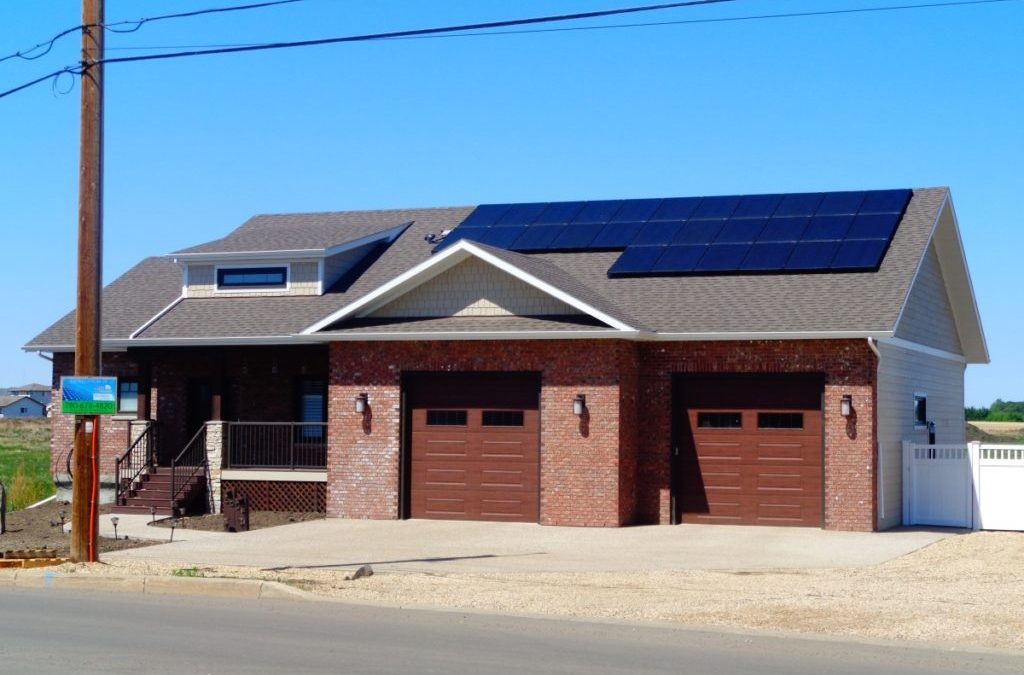 7.5 kW Array, Camrose. Alberta