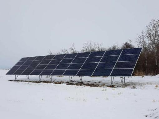 26 kW Array, Kelsey, Alberta
