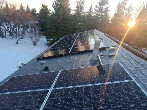 13.6  kW Array, Ponoka, Alberta