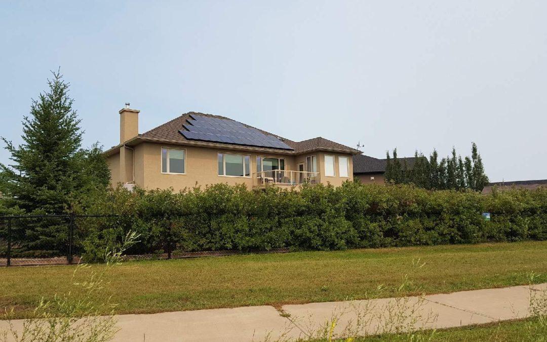 8.2 kW Array, Camrose. Alberta