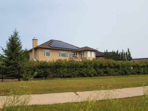 8.2 kW Array, Camrose. Alberta